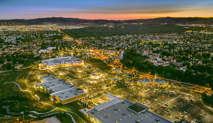 Magic Hour Retail - Aerial Drone Photography
